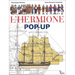 L'Hermione, le livre pop-up